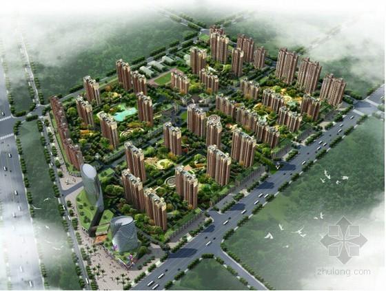 [江苏]13万平米大型现代社区建设工程施工总承包招投标文件(合同 清单 图纸)