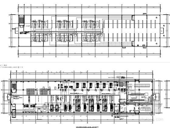 [黑龙江]数据中心机房楼及其制冷站智能化系统设计107张(2014最新设计)