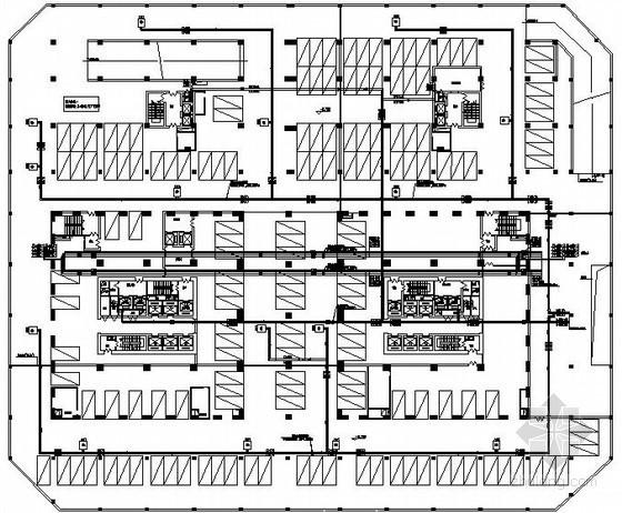 [山西]14万平超高层写字楼暖通空调全套设计施工图