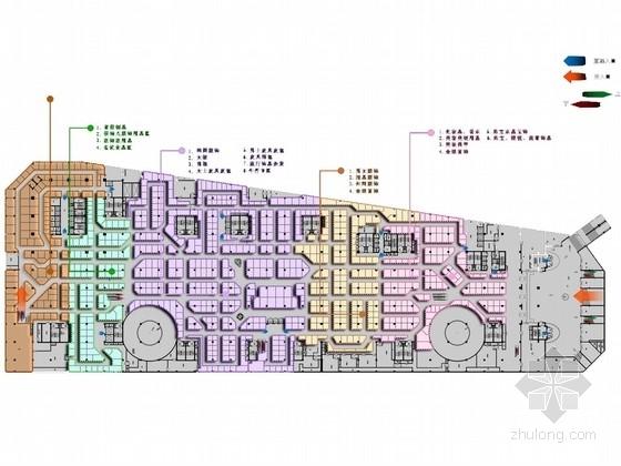 [吉林]现代商业联合体购物广场室内设计方案图