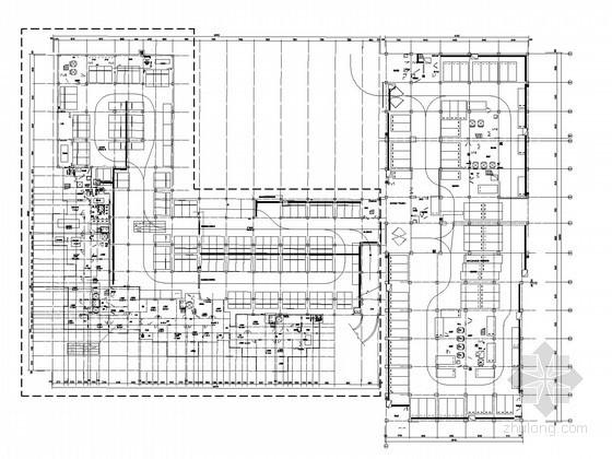 [北京]一类科研办公楼强电系统电气图纸(较多大样图)