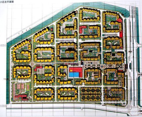 [深圳]某花城CAD、效果图建筑方案图