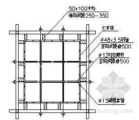南宁某会堂模板施工方案