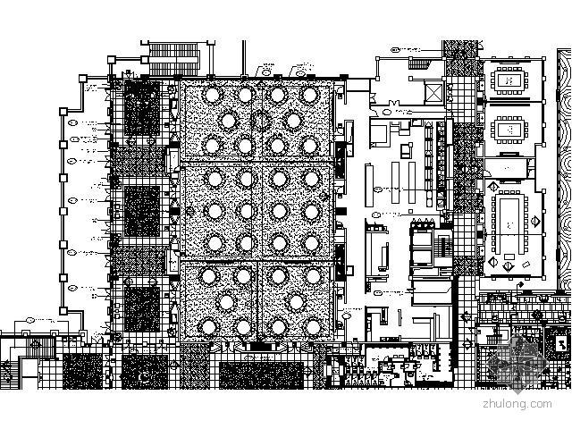 [三亚]五星酒店主大堂宴会厅施工图