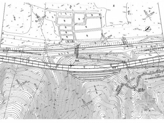 [河南]高速公路总体路线设计图97张(含立交)