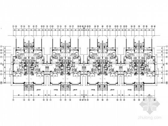[武汉]沿海别墅区地源热泵系统全套施工图154张(27栋别墅,会所)