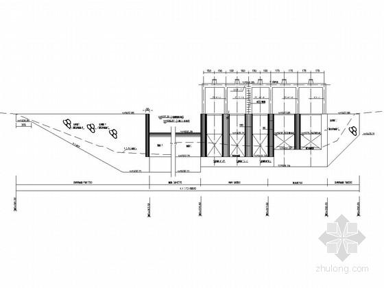 [四川]水电站枢纽工程初步设计施工图(引水隧洞 压力前池 厂房)