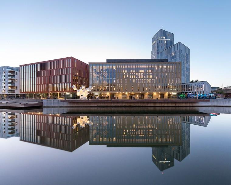 2016年世界建筑节全球最佳综合体项目大奖是这样的