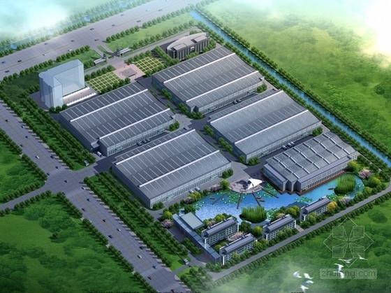 平面厂房规划规划文本资料下载-[安徽]现代风格新厂区地块规划设计方案文本(内含详细CAD图纸)