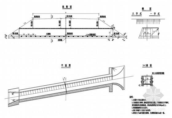 公路工程钢筋混凝土盖板涵标准图(11页)