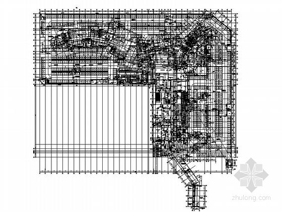 [福建]113米现代风格全球连锁知名酒店建筑-21层现代风格全球连锁知名酒店平面图