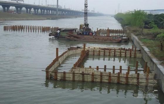 [江苏]城市立交桥水中钻孔灌注桩施工安全方案
