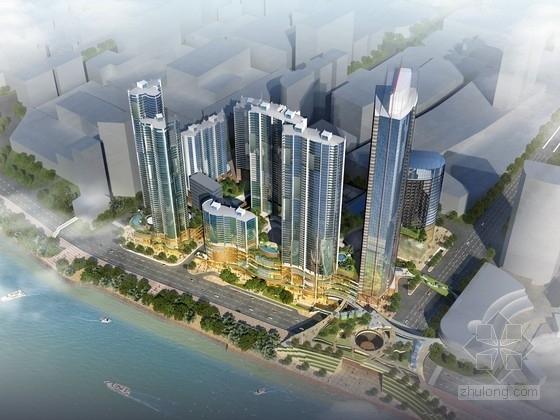 [湖南]商业区规划及单体设计方案文本
