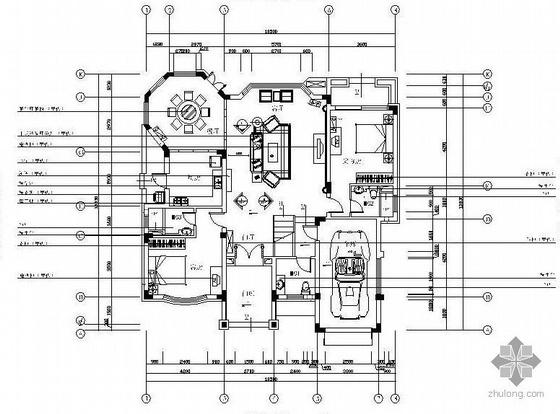 三层中式风格别墅设计图