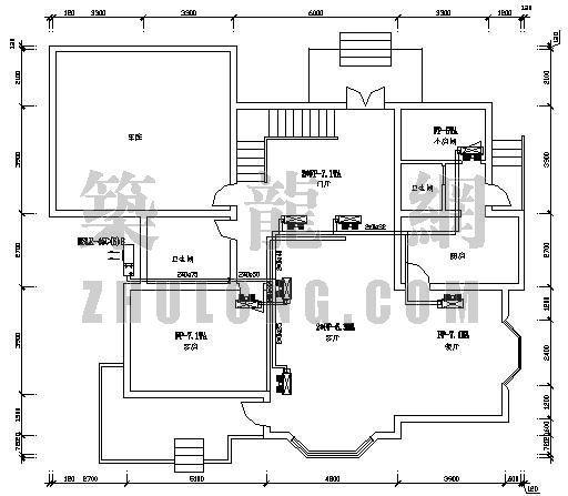 某别墅地源热泵空调设计图