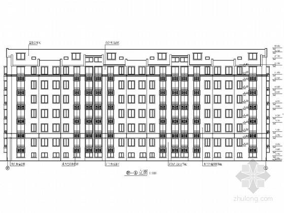 [学士]六层砖混结构单位职工住宅毕业设计(含建筑图 结构图 计算书)
