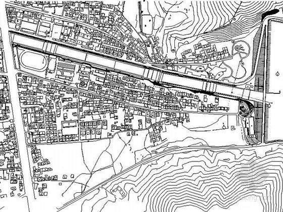 [江苏]现代化绿色生态乡镇景观设计施工图