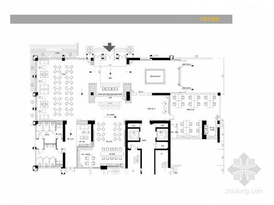 [南京]新古典主义华美商业空间软装设计方案