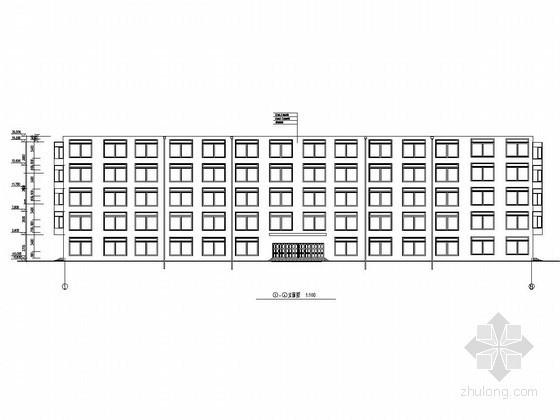 [学士]五层框架结构大学教学楼毕业设计(建筑结构图 计算书 答辩文件)
