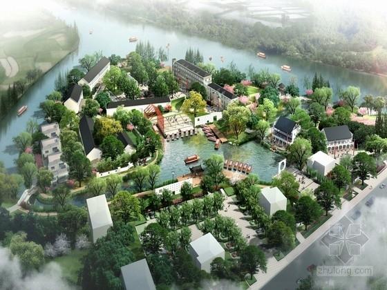 """[杭州]""""金石文化""""的特色旅游度假风景区景观规划设计方案"""