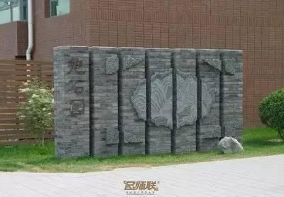 渗透在骨子里的中式情怀的景墙,干净、明亮!_15