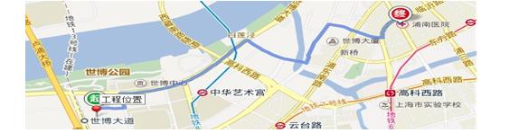 【鲁班奖】上海世博地区B03A-03地块办公室精装修工程(二标段)施工组织设计_5