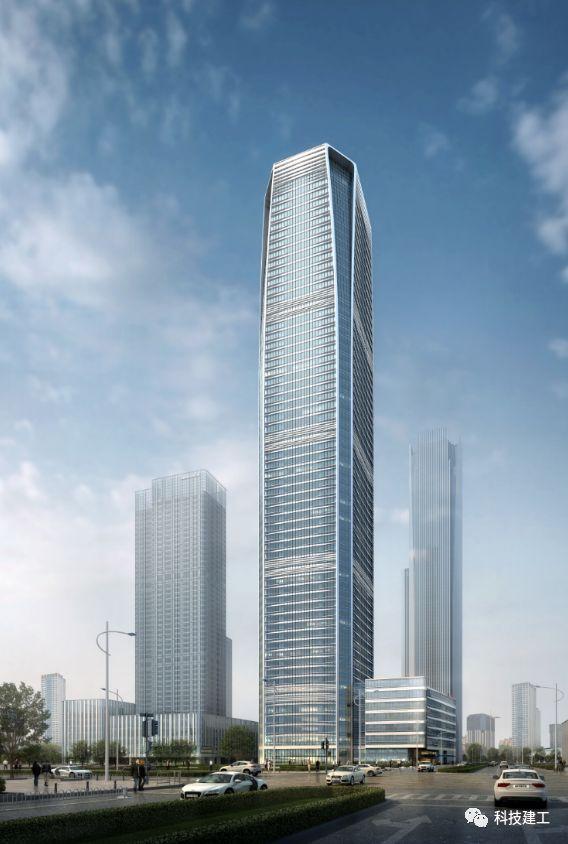 v型钢混凝土柱资料下载-315m超高层SRC巨型劲性柱、钢板剪力墙施工技术