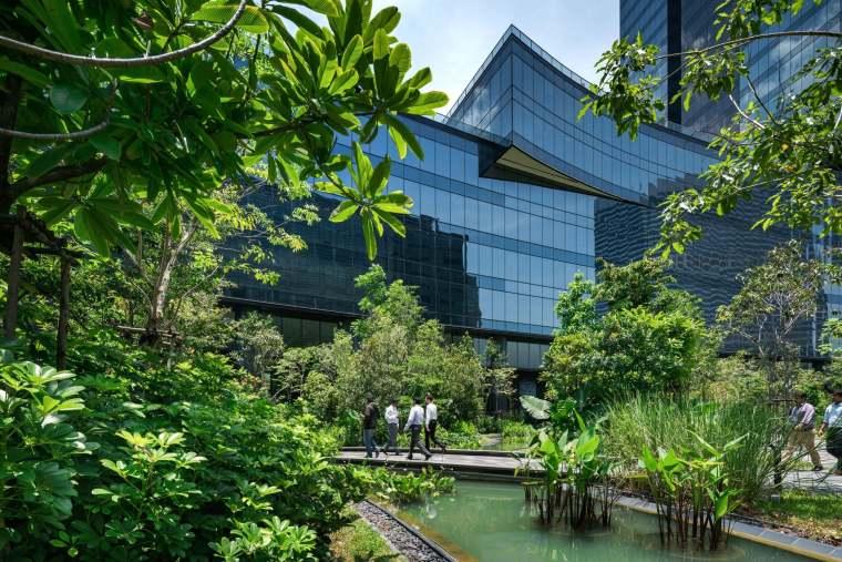 新加坡Comtech商业园区景观-6