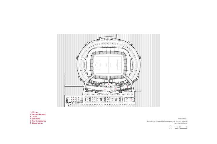 Estadio-de-Fútbol-del-Atlético-de-Madrid_Design-plano_Cruz-y-Ortiz-Arquitectos_CYO_10-planta-sótano-3