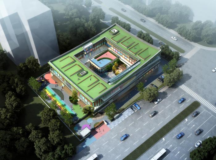 苏州工业园区昱园幼儿园建筑方案设计文本(12班+SU+文本)