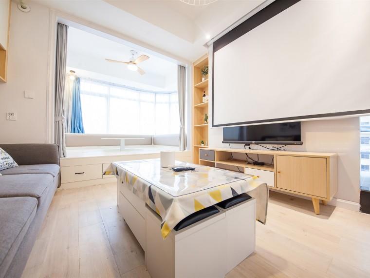 北欧风格的公寓