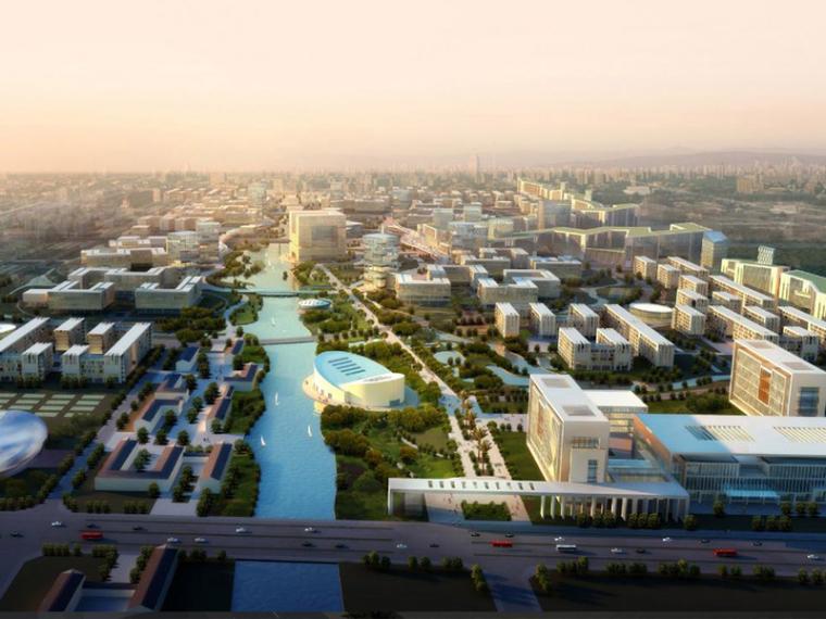 [浙江]杭州大学城城市规划设计