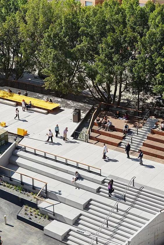 """你以为炫酷的大台阶设计就是画一个超大的""""单跑楼梯""""?_6"""