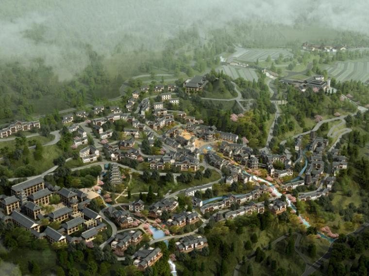 [湖北]恩施大峡谷旅游小镇概念规划设计