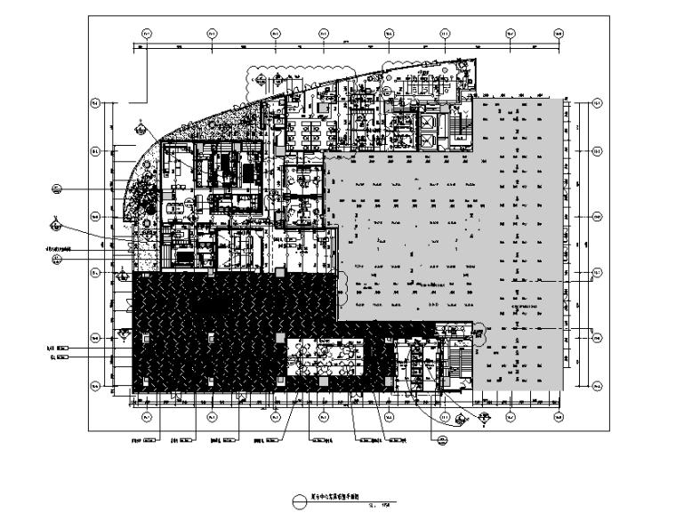 华润前海售楼处设计施工图(附效果图+物料清单+软装方案)
