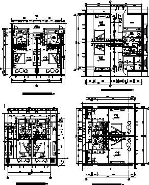 高层框剪结构写字楼建筑施工图
