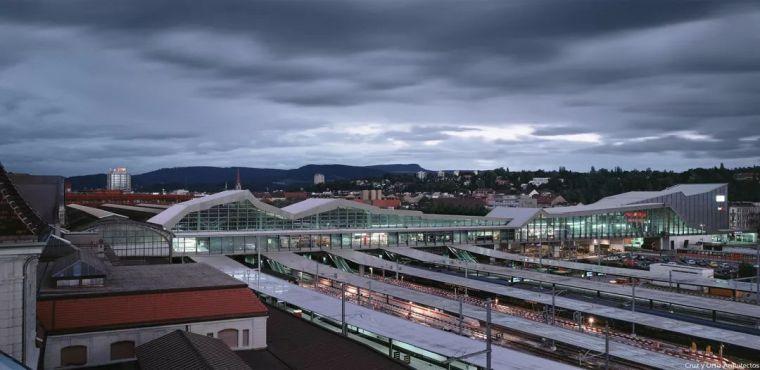巴塞尔SBB火车站改造与扩建,瑞士