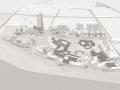 [重庆]巴南区巴滨路高差场地商业街建筑群设计方案文本(PDF)