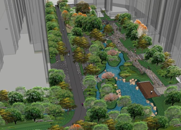 [北京]保利东郡方案文本居住区景观设计方案(PDF+87页)