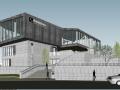 梅溪湖国际会所建筑方案SU模型