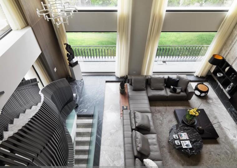 混搭风格的住宅空间-2