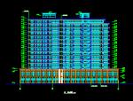 高层凯悦宾馆建筑设计施工图