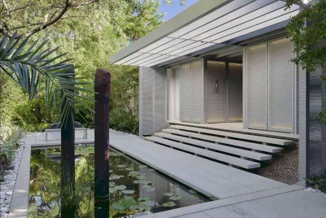 赶紧收藏!21个最美现代风格庭院设计案例_97