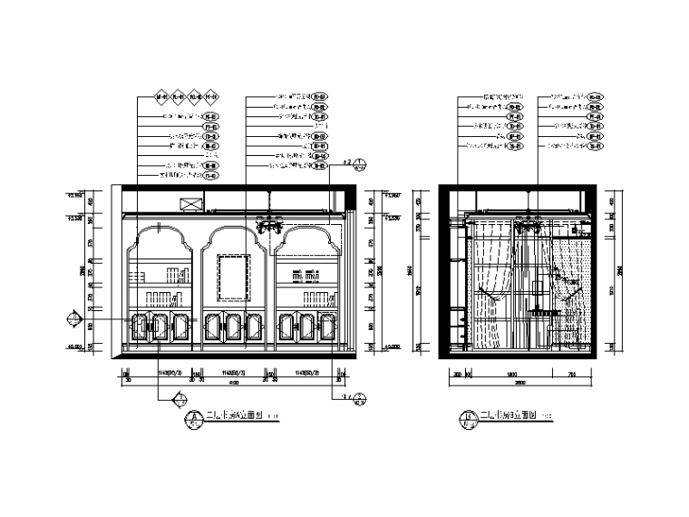地中海别墅设计CAD施工图(含效果图、软装方案)_5
