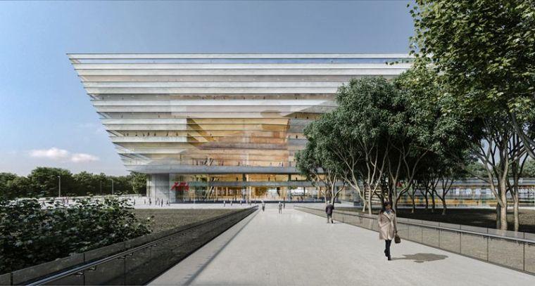 BIM案例▕上海图书馆东馆项目