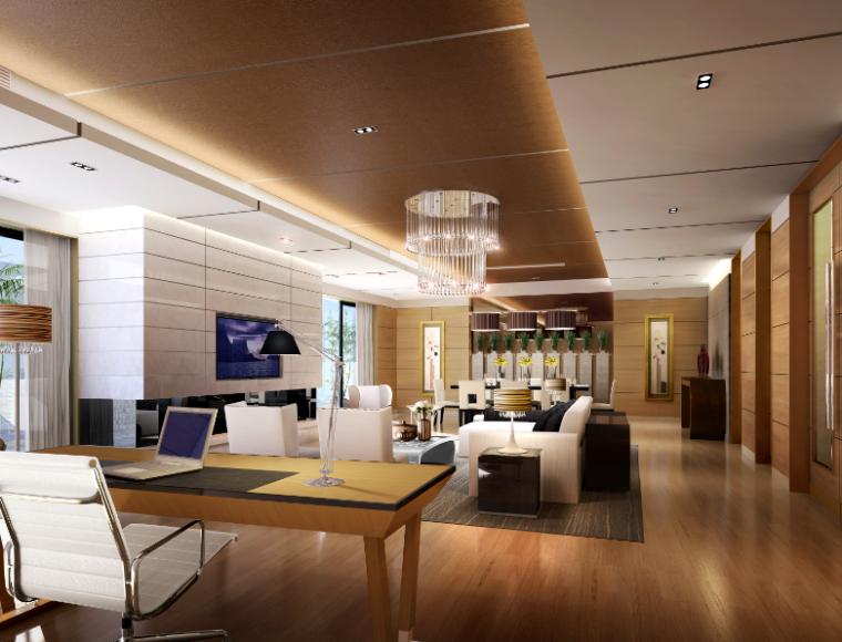 【海南】CCD-三亚国际酒店设计施工图(附效果图)_5