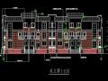 三层杭州精品排屋建筑施工图