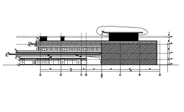层剪力墙科技图纸创意楼建筑施工图(全结构审配电室专业强审吗用图片