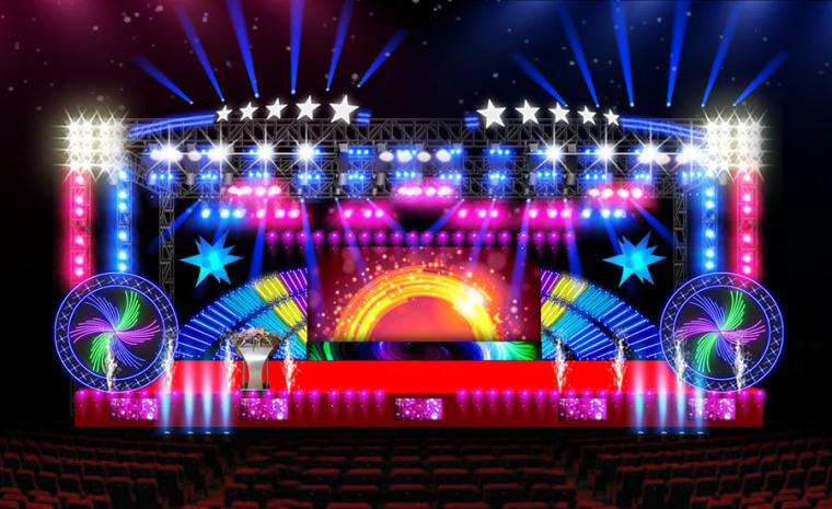 (原创)舞台设计案例效果图