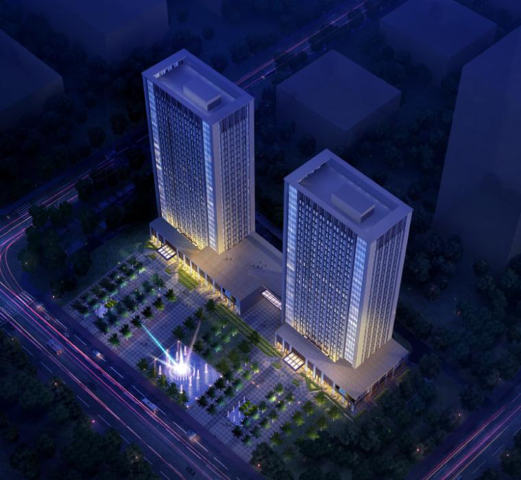 蓬莱蓬建集团办公楼建筑设计方案文本